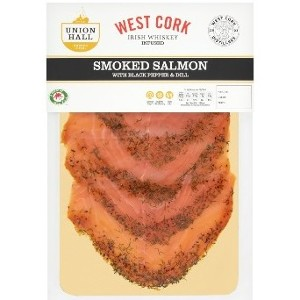 Irish Whiskey Infused Smoked Salmon